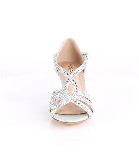 Sandalette MISSY-03 - Silber