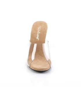 Pantolette CARESS-401 - Klar/Tan
