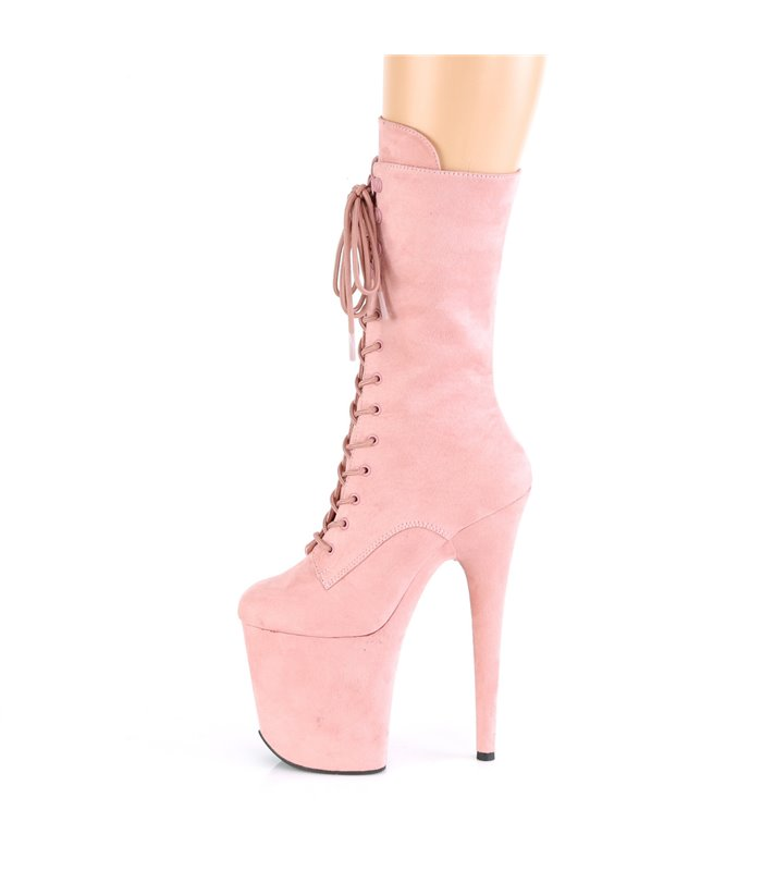 Extrem Plateau Heels FLAMINGO-1050FS - Baby Pink