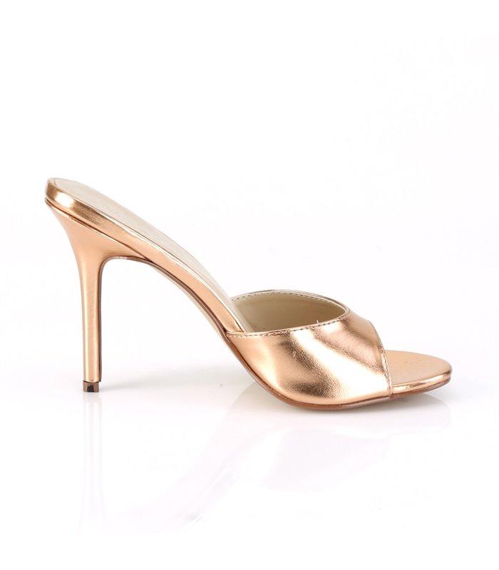 Pantolette CLASSIQUE-01 - Rose Gold Metallic