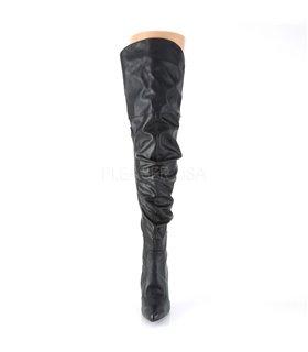 Overknee Stiefel CLASSIQUE-3011 - Schwarz