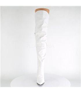 Overknee Stiefel CLASSIQUE-3011 - Weiß