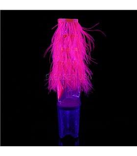 Pleaser Plateau Sandaletten FLAMINGO-1017MFF pink