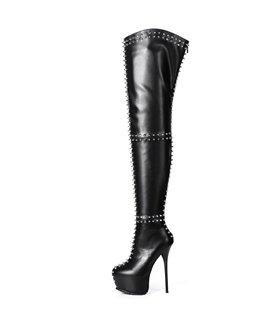 Giaro Overknee Stiefel Sophia schwarz matt