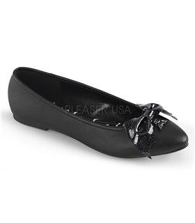 Demonia Ballerinas VAIL-01 Schwarz