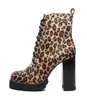 Ellie Tailor Legion leo Ankle Boots Damen Herren Übergröße
