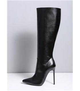 Ellie Tailor Dizzy schwarz kniehoher Stiefel Damen Herren Übergröße