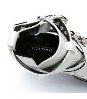 Ellie Tailor Craven weiss Ankle Boots Damen Herren Übergröße