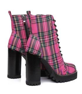 Ellie Tailor Legion pink Ankle Boots Damen Herren Übergröße