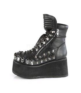Plateau Schuhe CLASH-150 - Schwarz