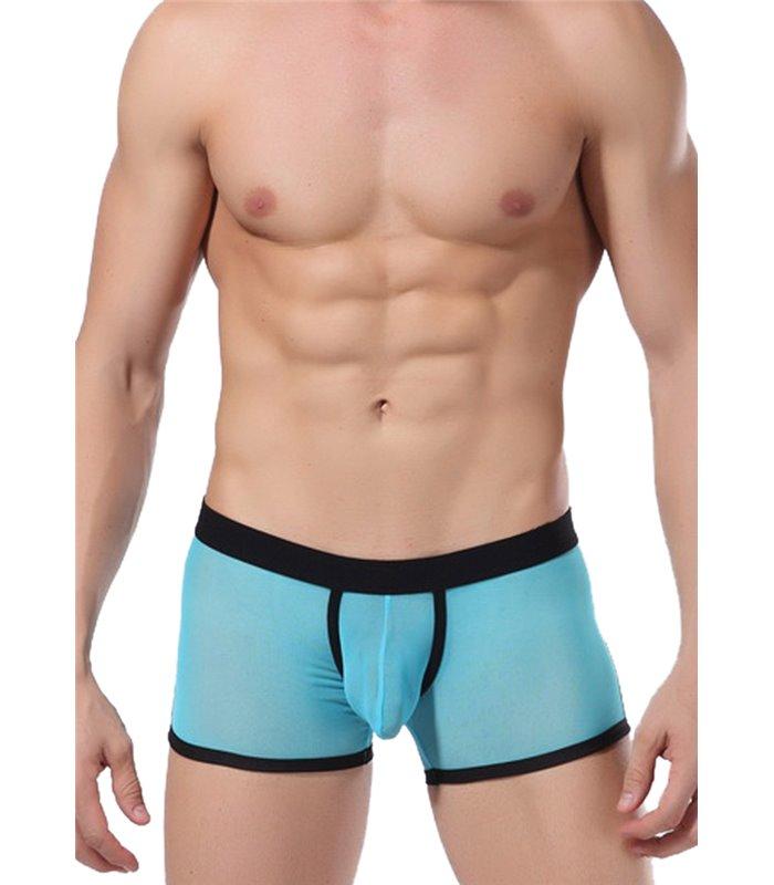 Sexy Boxershort für Herren - Schwarz/Blau