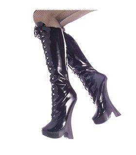 Fetisch Stiefel FEMME-2020 - Lack Schwarz