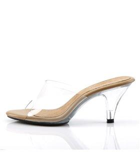 Sandalette BELLE-301 : Klar/Tan