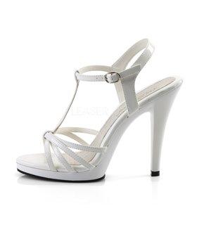Sandalette FLAIR-420 - Lack Weiß