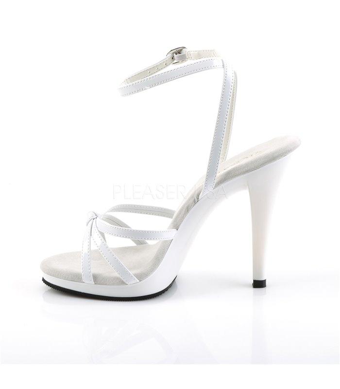 Sandalette FLAIR-436 - Lack Weiß
