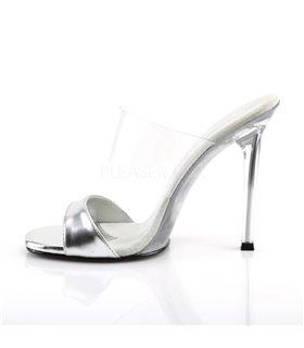 Pantolette GALA-02L - Silber