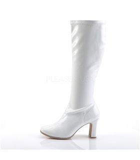 Gogo Stiefel KIKI-350 - Lack Weiß