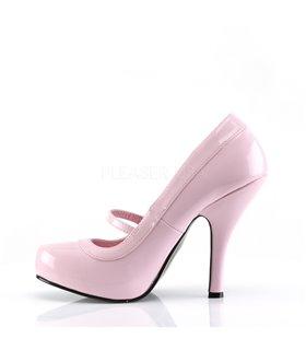 Mary Janes CUTIEPIE-02 - Lack Baby Pink