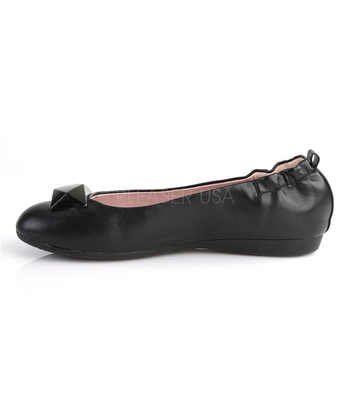 Pin Up Couture Ballerinas OLIVE-08 Schwarz