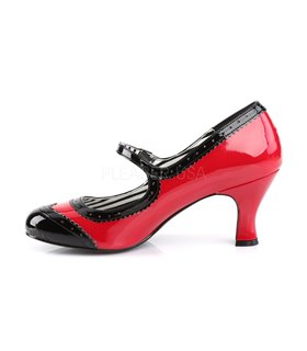 Pleaser Pumps Pleaser Pink Label JENNA-06 rot