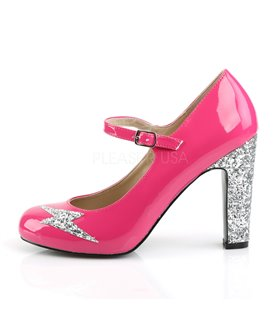 Pleaser Pumps Pleaser Pink Label QUEEN-02 pink